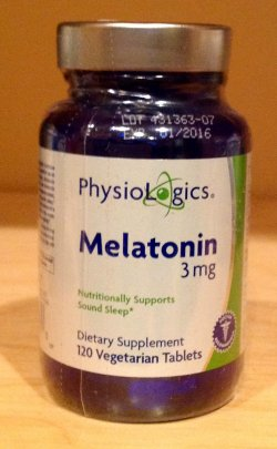 Melatonin - 120 Vegetarian 3mg  Tablets